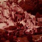 Disneyland 35mm CINDERELLA'S CASTLE Souvenir Slide PANA-VUE (Vintage) VP50A4