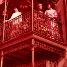 Disneyland 35mm IRON LACE BALCONIES Souvenir Slide PANA-VUE (Vintage) VP703