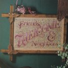VICTORIAN WELCOME Cross-Stitch Single Pattern ONLY FREE SHIPPING