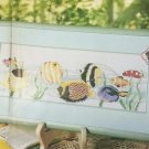 JEWELS FROM A TROPIC SEA Tropical Fish Ocean Cross-Stitch Single Pattern ONLY FREE SHIPPING
