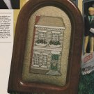 COLONIAL HOUSE Cross-Stitch Single Pattern ONLY House Holiday FREE SHIPPING