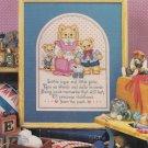CHILDHOOD MEMORIES Cross-Stitch Single Pattern ONLY Teddy Bears FREE SHIPPING