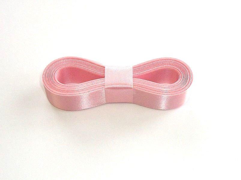 "PINK - 10 Yards X 5/8"" Sealed Edge Satin Ribbon Water Resistant"