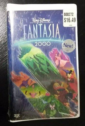 NEW / SEALED Walt Disney's FANTASIA 2000 VHS Video Clamshell FREE SHIPPING