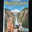 Brand New Factory Sealed Walt Disney's HOMEWARD BOUND The Incredible Journey VHS