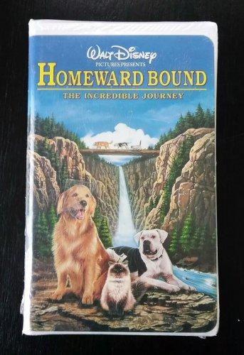 Brand New Factory Sealed Walt Disney's HOMEWARD BOUND The Incredible Journey VHS