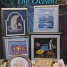 THE OCEAN Cross-Stitch Pattern Booklet by Cross My Heart lighthouse dolphin fish FREE SHIPPING