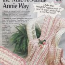 LEARN TO CROCET THE MILE-A-MINUTE ANNIE WAY Booklet FREE SHIPPING