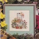 SPRING BEAUTIES Cross-Stitch Single Pattern ONLY In The Garden Series #1 of 2 FREE SHIPPING