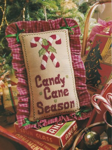 CANDY CANE SEASON Cross-Stitch Single Pattern ONLY Christmas Holiday FREE SHIPPING