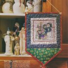 CAROLING QUARTET Cross-Stitch Single Pattern ONLY Christmas Holiday FREE SHIPPING