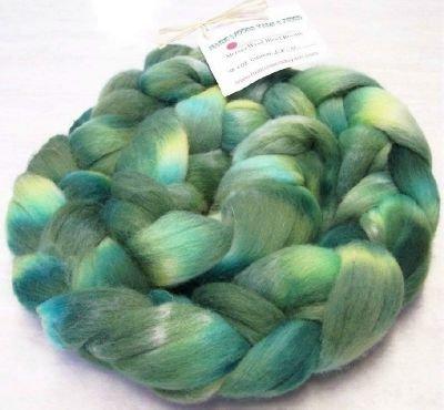 "Soft Wool Blend Roving ~ ""Erin"""