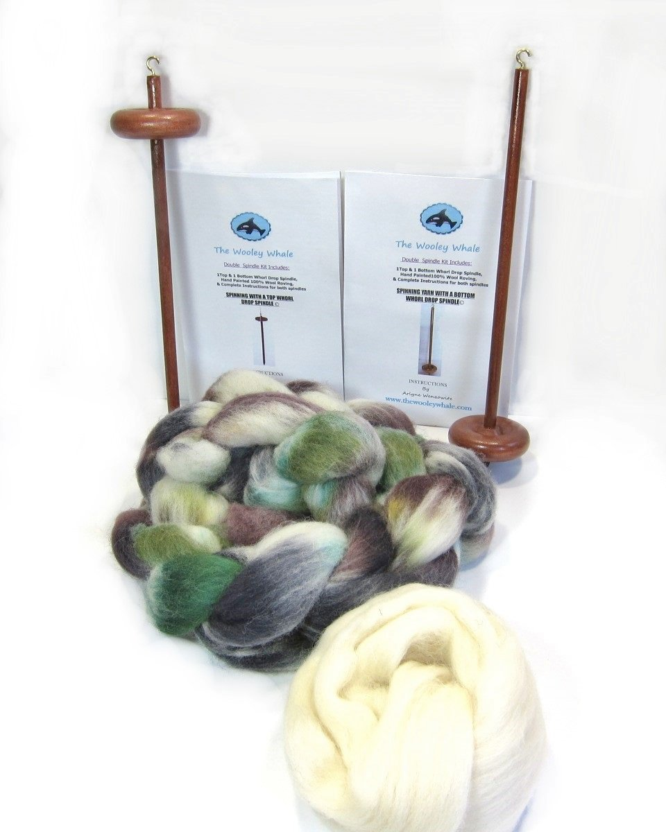 DOUBLE DROP SPINDLE KIT ~ BIRCH TREES