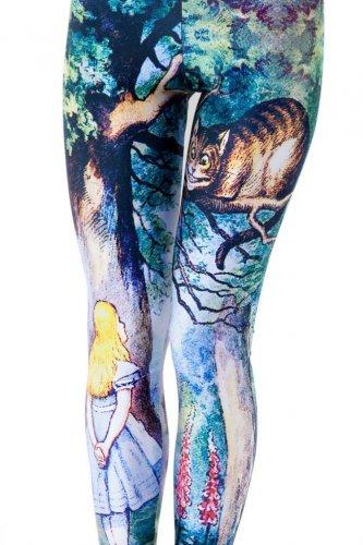 Alice in Wonderland leggings