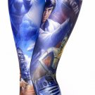 Ladies Blue Star Wars Leggings