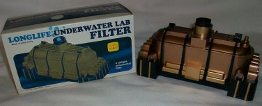 VINTAGE LONGLIFE UNDERWATER LAB BOX FILTER NEW UNIQUE COLLECTOR ITEM