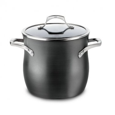 Calphalon Unison Nonstick 8 Qt. Stock Pot with Cover New