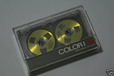 Reel Clear Gold Reel to Reel Cassette Tape