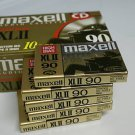 10 Maxell XLII-90 Cassette Tapes