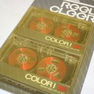 Red Reel to Reel Audio Cassette Tapes