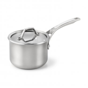 Calphalon AcCuCore 2 Qt. Sauce Pan with Cover   New