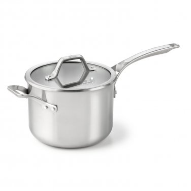 Calphalon AcCuCore 4 Qt. Sauce Pan with Cover New