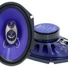 Pyle Blue Label 6'' x 8'' 3 Way Speaker System Pair