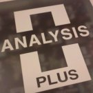 Analysis Plus New  Black Mesh Oval 9 Speaker Cables