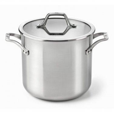 Calphalon AcCuCore 8 Qt. Stock Pot with Cover New
