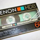 Denon HD8-60 Metal Cassette Tapes Made In Japan