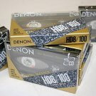 10 Denon HD8-100 Metal Cassette Tapes