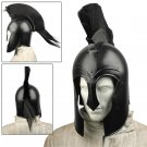 Black Corinthian Style Achilles Trojan Helmet