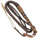 Colorado Mountain Leather Cattle Bullwhip