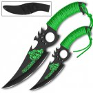 Zombie Infected Malice Throwing Knife Set