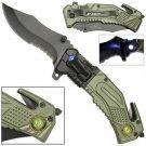 AO ARMY LED Rescue Knife