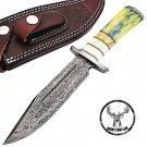 Hunt For Life Ashton Hills Damascus Steel Knife