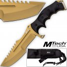 Call Of Duty Ghosts MTECH USA Knife Xtreme Gold Tactical