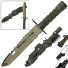 Deception Combat Military Bayonet Tactical Survival Knife