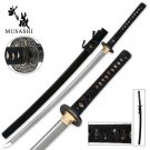 Bamboo Artwork Musashi Carbon Steel Katana Sword