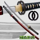 Musashi - 1060 Carbon Steel - Best Miyamoto Sword Red