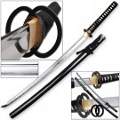 Katana Practical Daimyo Samurai Sword Full Tang Black Battle Ready