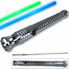 Jedi Lightsaber 1:1 Replica Padawan Series Window'd Die-Cast Handle Dual Color 48in