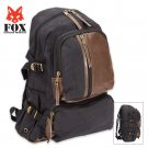 Fox Outdoor Products Retro Vintage Airman's Rucksack - Black