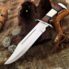 Full Tang Mediterranean Basin Fixed Blade Bowie Knife
