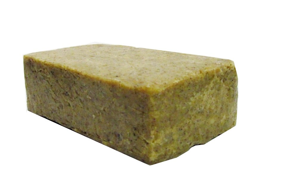 Cinnamon Oatmeal & Shea Butter Soap Bar 5 oz - All Natural Handcrafted