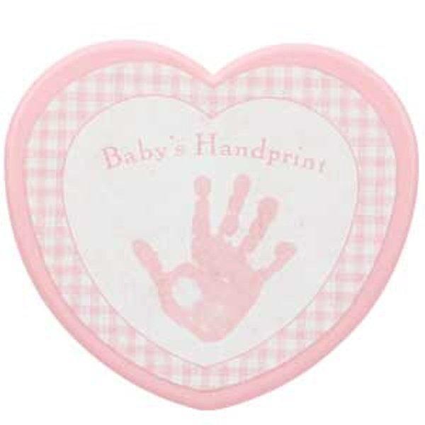Baby Girls First Handprint Kit Keepsake Casting Kit