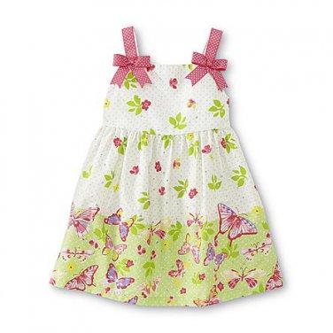 24M Ashley Ann Infant & Toddler Girl's Sundress - Butterfly Print