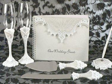 Eleganza lace collection wedding accessory