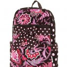Belvah quilted floral backpack book bag QF2716(BRPK)