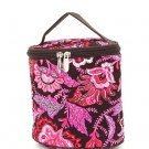 Belvah quilted paisley brown & pink lunch bag box QF27LT13(BRPK) BS399